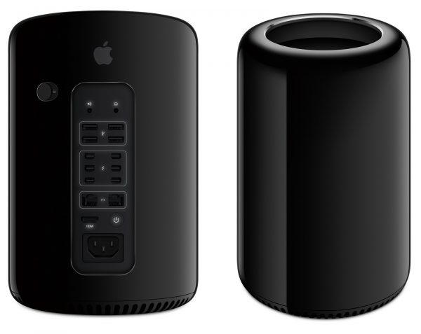 Mac Pro 2013 Late - Xeon E5-6 Core - 32GB - 2 x VGA D700 – MD878 + LCD 27 inch Apple